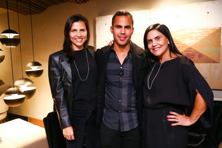 Carolina Meirelles, Tarik e Soraia Faraj