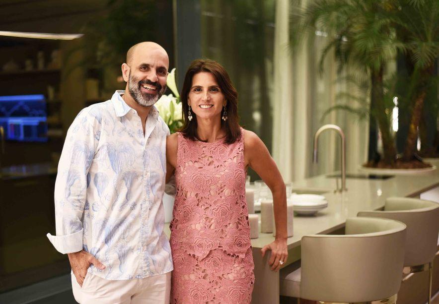 Claudio Gomes e Ana Lucia Juca