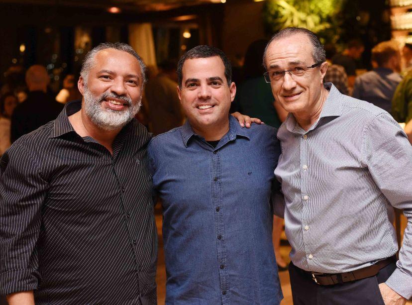 DJ Papagaio, Duda Porto e Ronaldo Lo Bianco