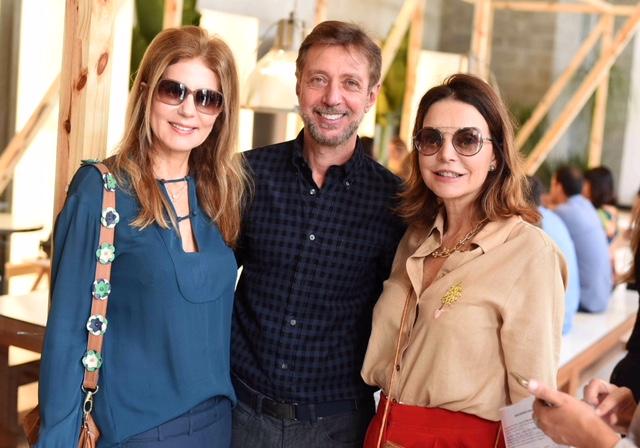 Eliana Pazzini, Nando Grabowsky e Patricia Mayer