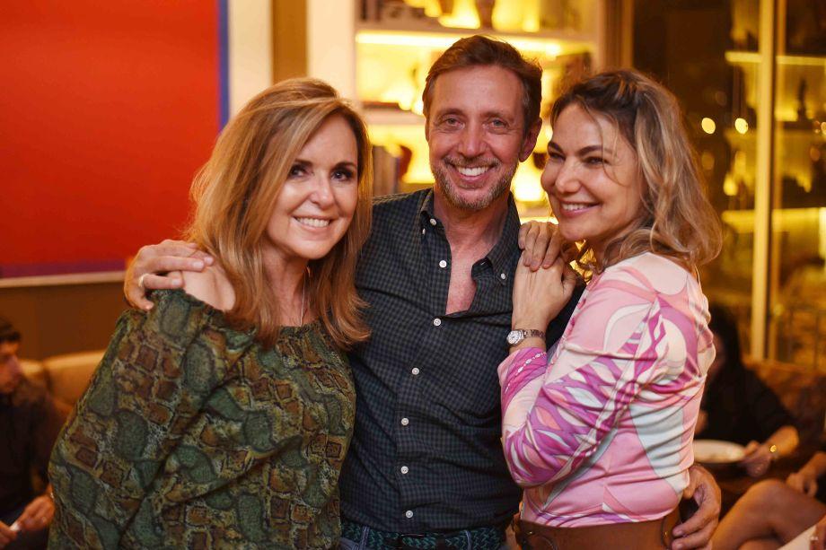 Eliane Couto, Nando Grabowsky e Marcia Muller