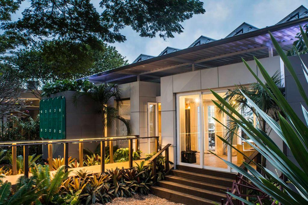 fachada casa sustentavel
