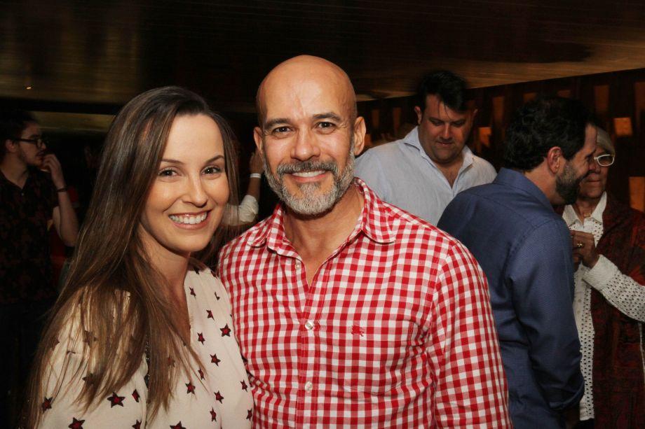 Juliana Leão e Ney Lima