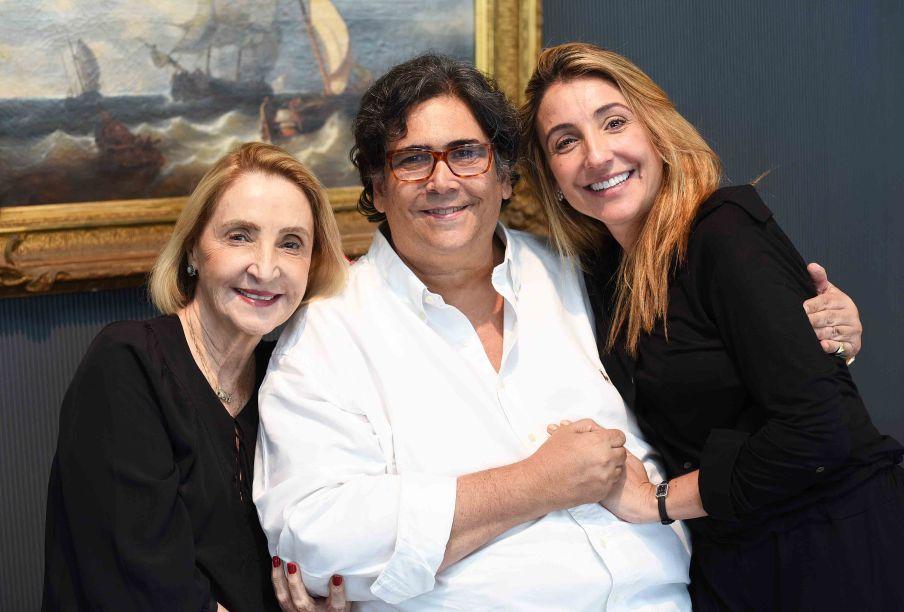 Laura Pederneiras, Antonio Neves da Rocha e Roberta Pederneiras
