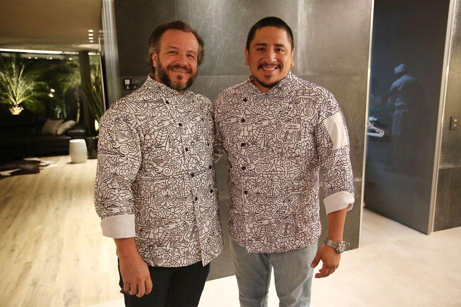 Oa chefs Renato Carioni e Marco Espinoza