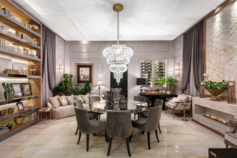 Projeto Mais Sofisticado – <strong>Sala Nobre de Jantar</strong> de Rose Campos