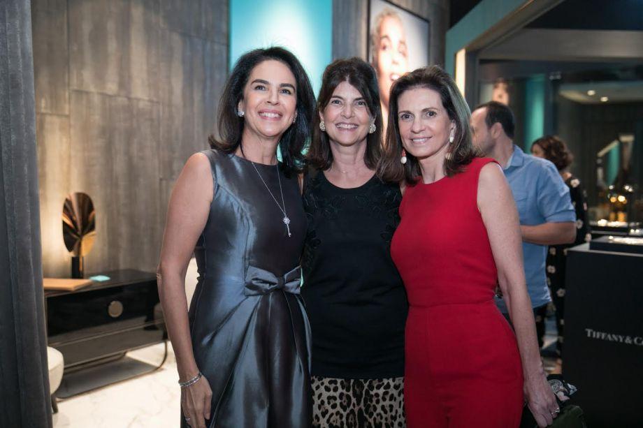 Joy Garrido, Viviane Grabowsky e Paula Nabuco