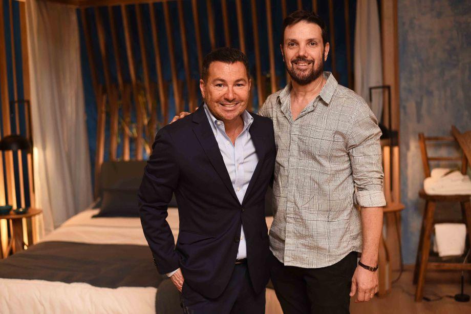 Victor Paladino e Mario Santos