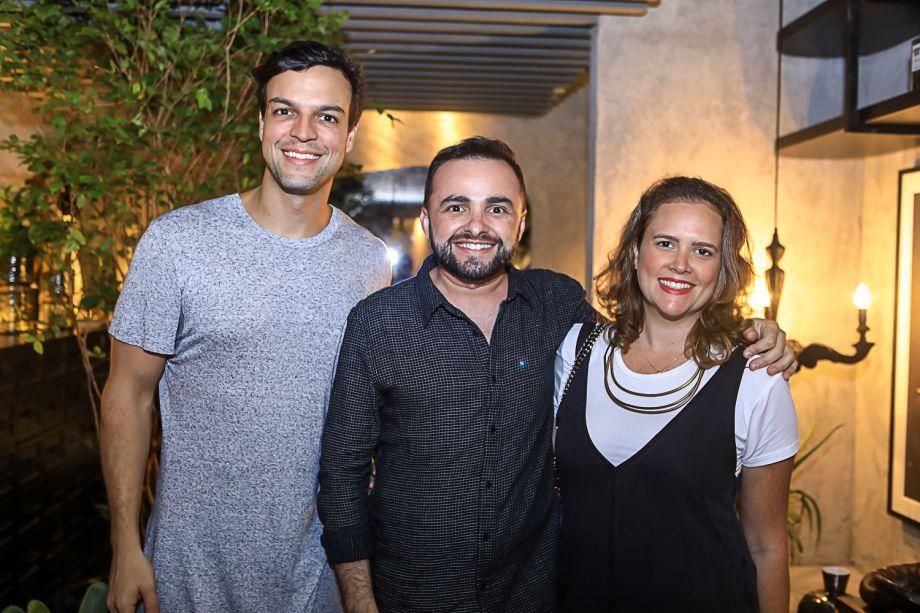Walter Costa Lima, Ramiro Mendes e Amanda Camara