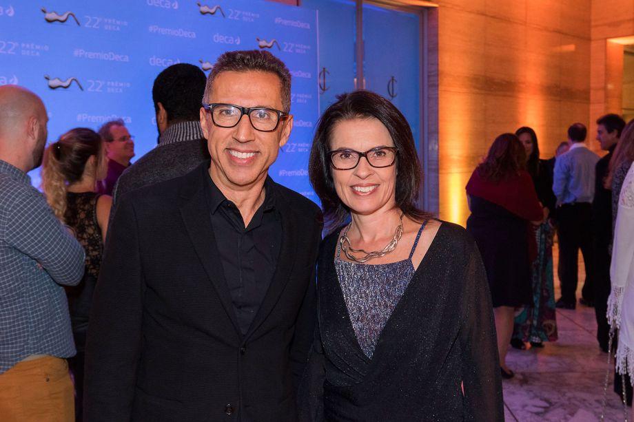 Flavio Butti e Alice Martins