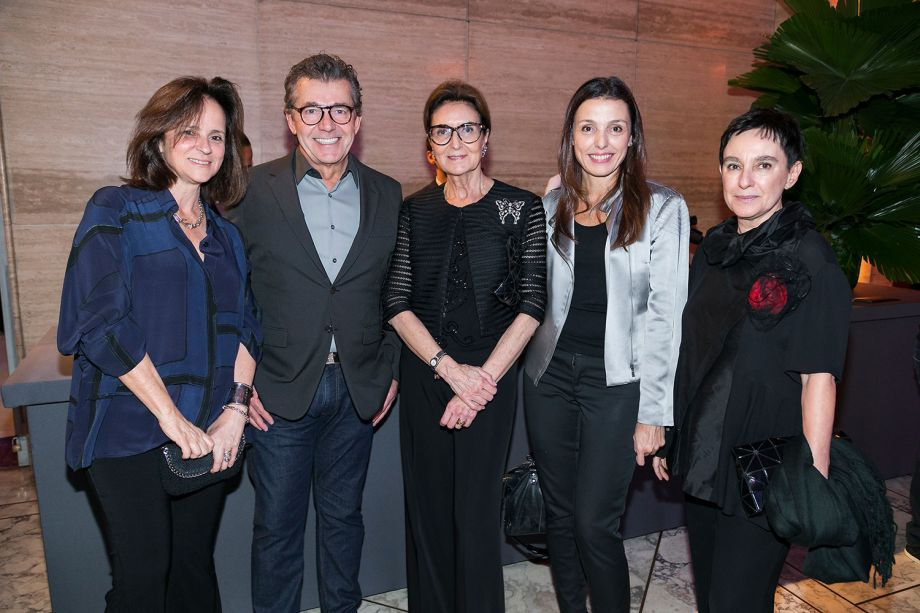 Patricia Quentel, Cristina Ferraz, Roberto Migotto, Cris Bava e Livia Pedreira