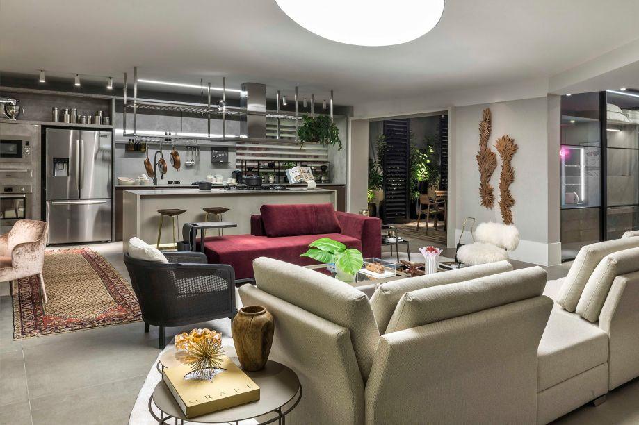 <b><span>Sonho de Cozinha</span></b><span> – Loft do Casal Moderno (Cybele Barbosa + Arquitetos Associados)</span>