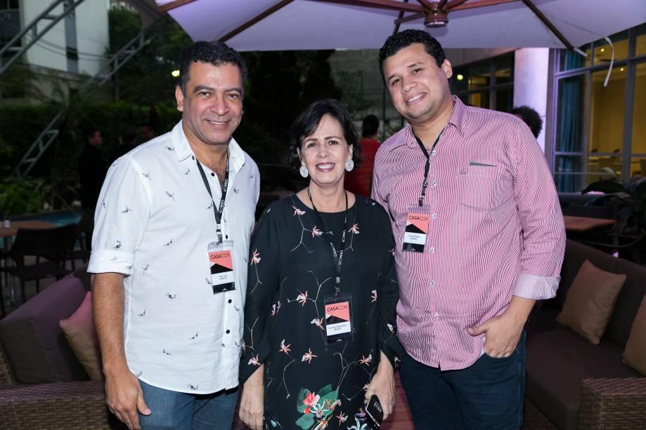 Pedro Ariel, Neuma Figueiredo e Victor Esdras