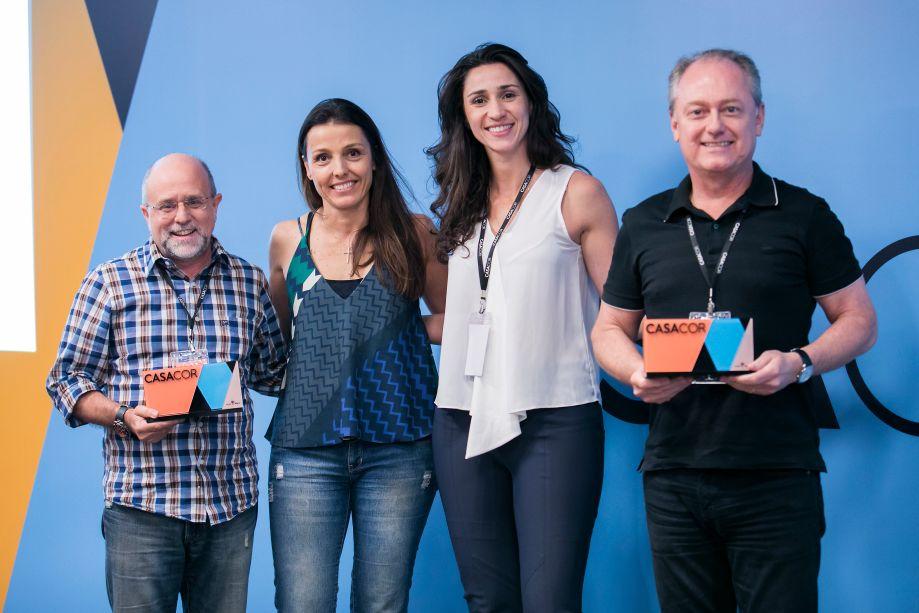Maurício Siqueira, Cristina Bava, Graziela Caroli e Mauricio Calixto