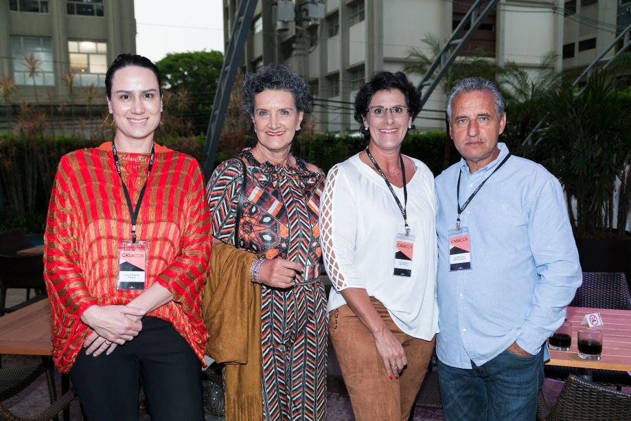 Lauren Maurer, Marina Nessi, Francis e Luiz Bernardo
