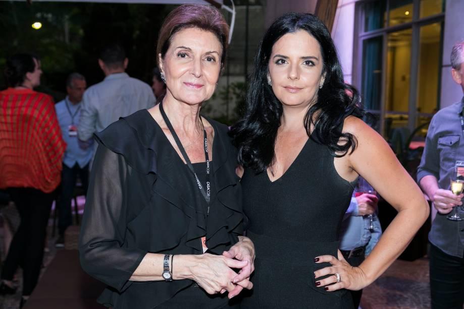Cristina Ferraz e Cristiane Calixto