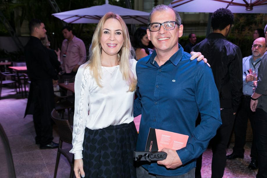Tatiana Ratier e Aldo Miranda