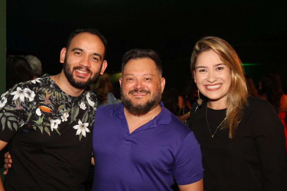 Daniel Sousa, André Alf e Marina Lage