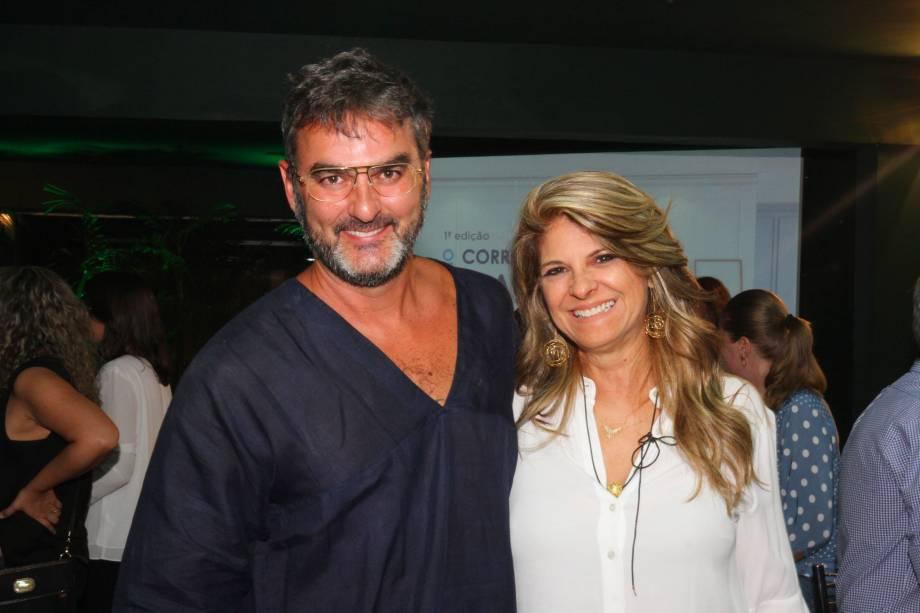 Leo Romano e Ângela Castilho