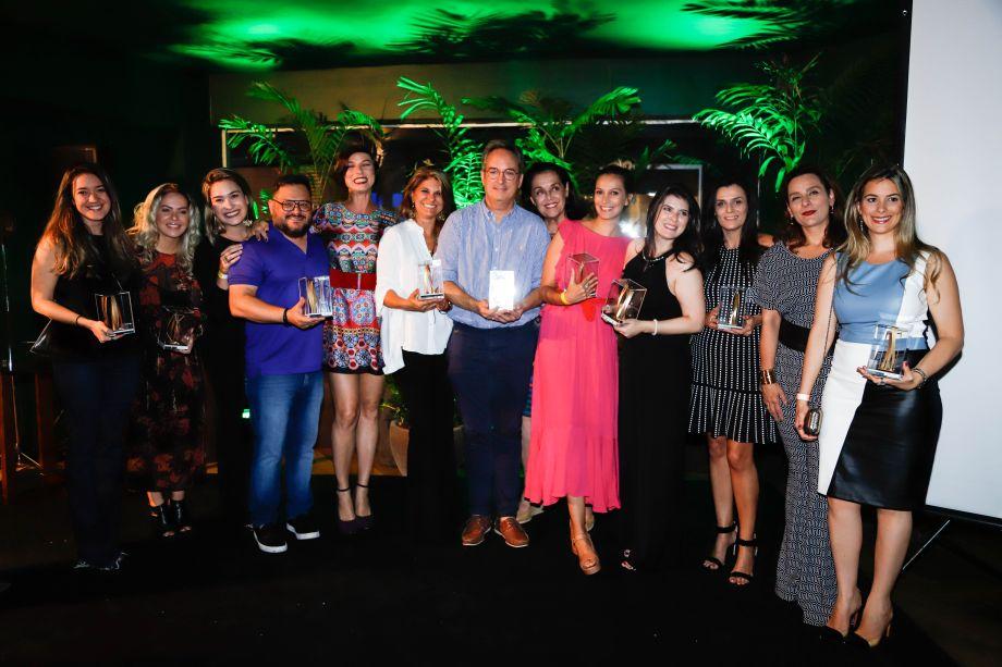 Os ganhadores da primeira edição do prêmio