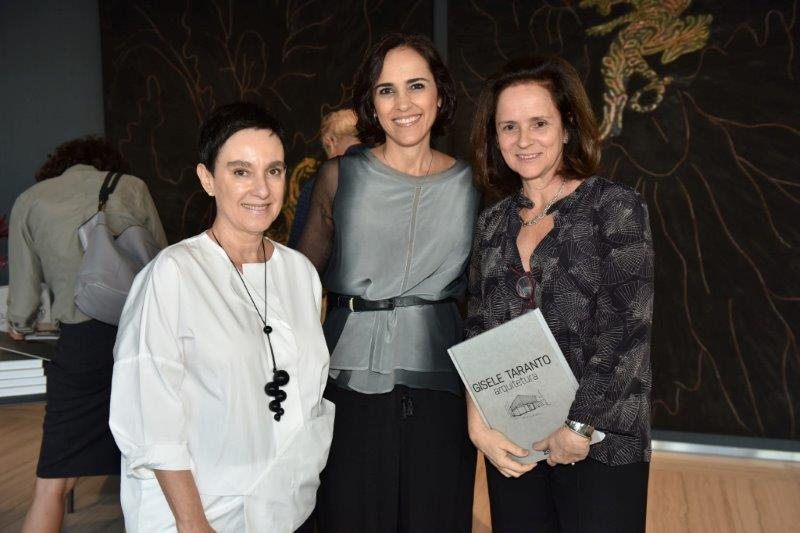 Lívia Pedreira, Gisele Taranto e Patrícia Quentel