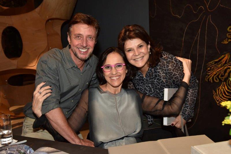 Nando Grabowsky, Gisele Taranto e Paula Neder