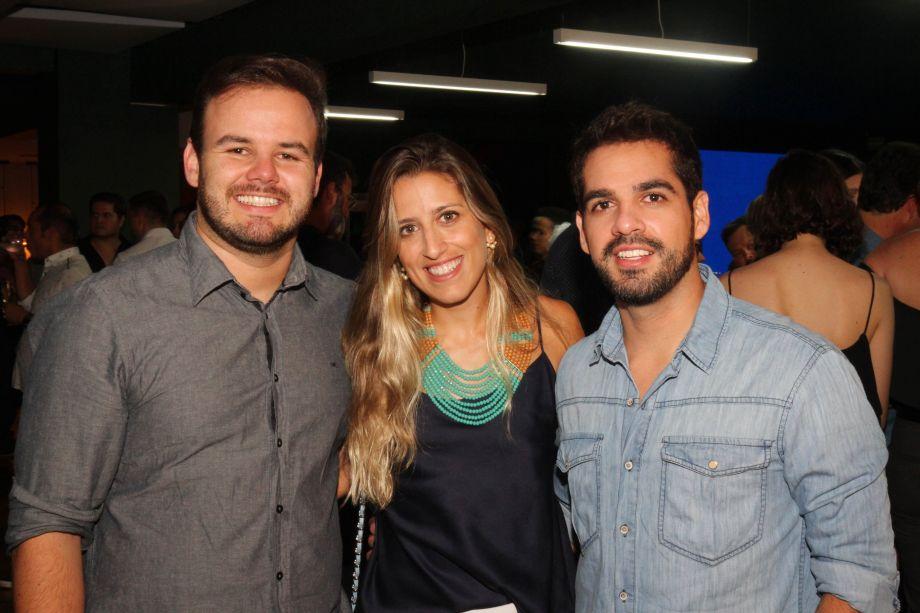 Plínio Barros, Gabi Gontijo e Clay Rodrigues