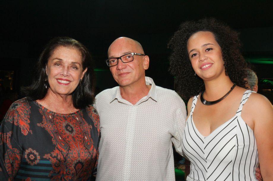 Sônia Peres, Rauf e Mariana dos Santos