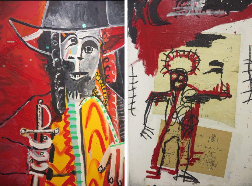 <strong>Art Basel:</strong> galerias fine art de todo o mundo vendiam telas valiosas de mestres das artes, como Picasso e Basquiat.