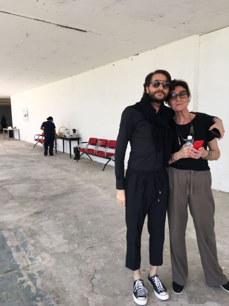 Michel Safatle e Cris Ferraz