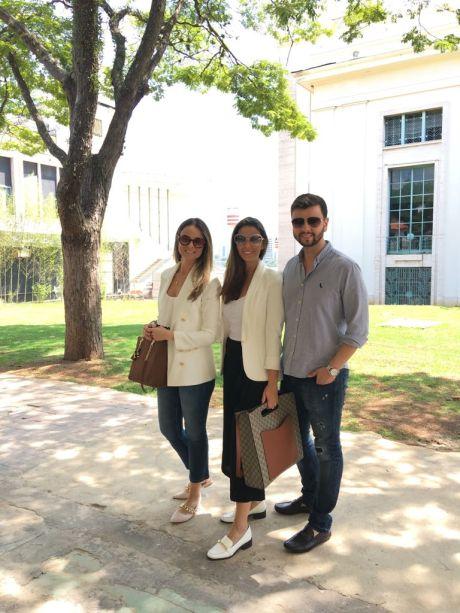 Laura Maciel, Lidia Maciel e Leandro Maciel