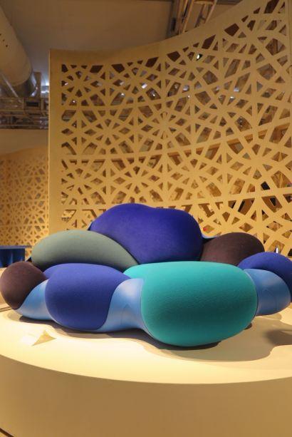 <strong>Design Miami:</strong> os irmãos Campana lançaram este exclusivo sofá para a coleção Nomads, da Louis Vuitton.