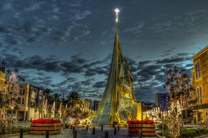 Lebanon-Byblos Christmas tree 2015 _ Ramzi Semrani _ Flickr