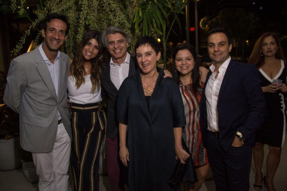 Benjamin Ramalho, Francesca Civita, Alex Stevens, Lívia Pedreira, Raquel Carvalho e Lúcio Grimaldi