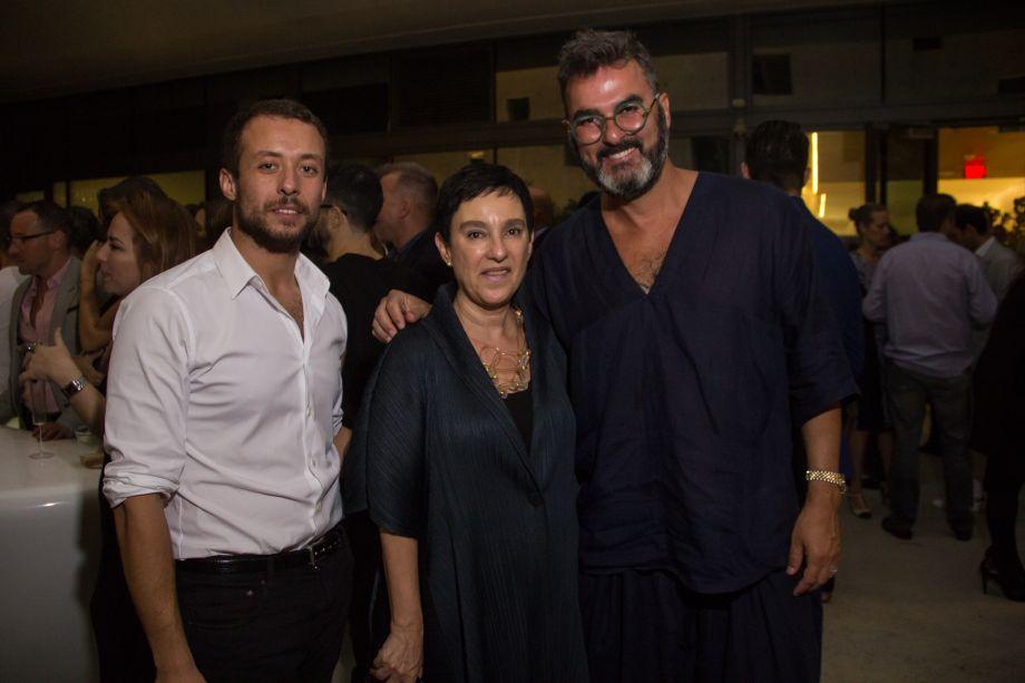 Gustavo Neves, Lívia Pedreira e Leo Romano