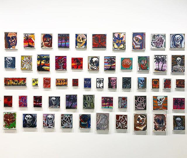 Xavier Hufkens: pintura de Josh Smith, artista graduado pela Universidade de Miami e Universidade do Tennessee.