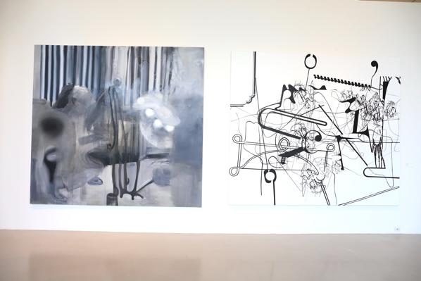 Trabalhos de Albert Oehlen