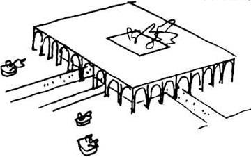 O Palácio do Itamaraty flutua no centro de um espelho d'água cercado por um jardim de Burle Marx. Seu projeto austero abriga um interior espaçoso e luxuoso o suficiente para receber o alto escalão internacional que o frequenta.