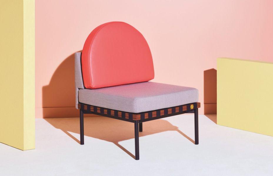 Petite Friture. Móveis modernos, em cores e cenários vibrantes serão o destaque da marca francesa Petite Friture na feira.