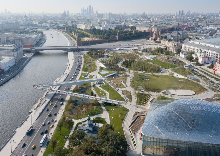 Arquitetura Pública: Zaryadye Park / Diller Scofidio + Renfro