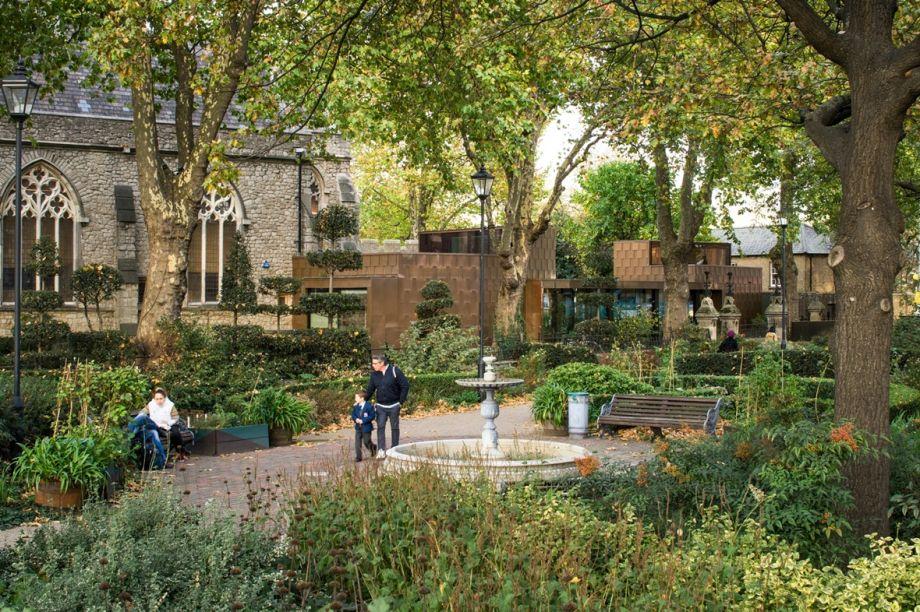 Garden Museum em Londres, Reino Unido.