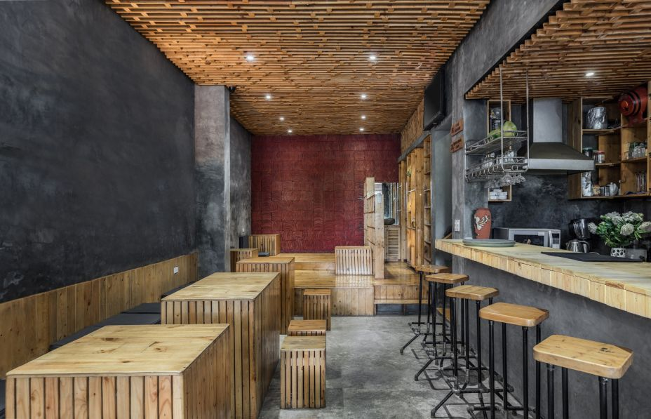 Hotelaria e Restaurantes: KOI Cafe / Farming Architects