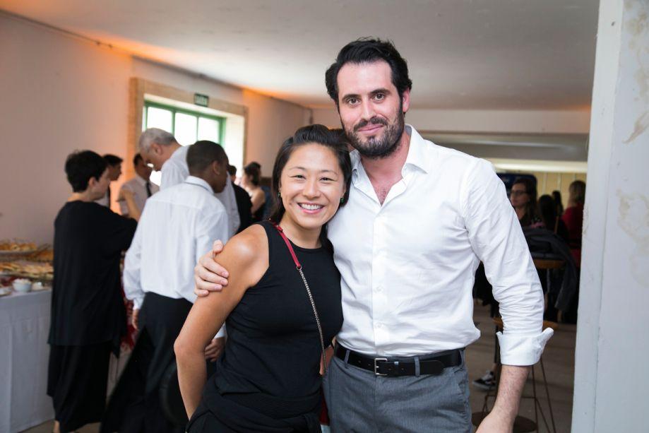 Naomi Abe e Maicon Antoniolli