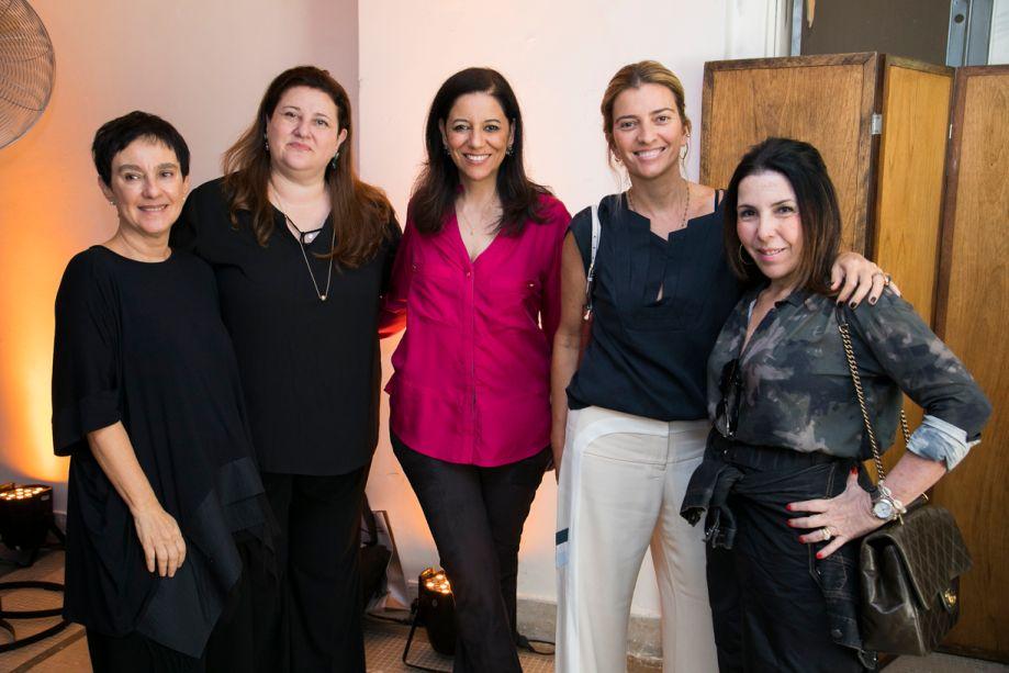 Lívia Pedreira, Fátima Barnabé, Cleide Gomes, Flávia Pardini, Paola Ribeiro