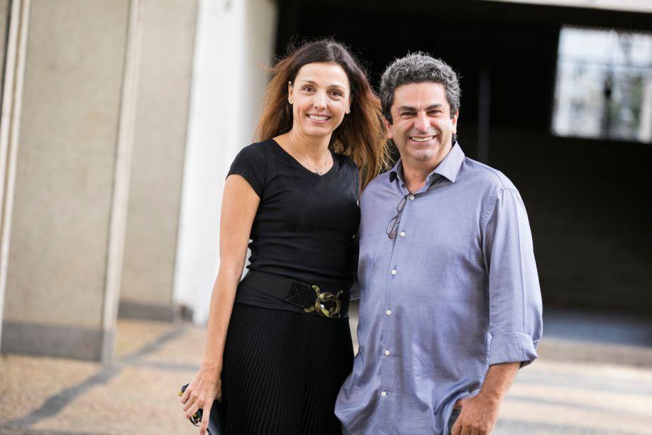 Cris Bava e Roberto Riscala