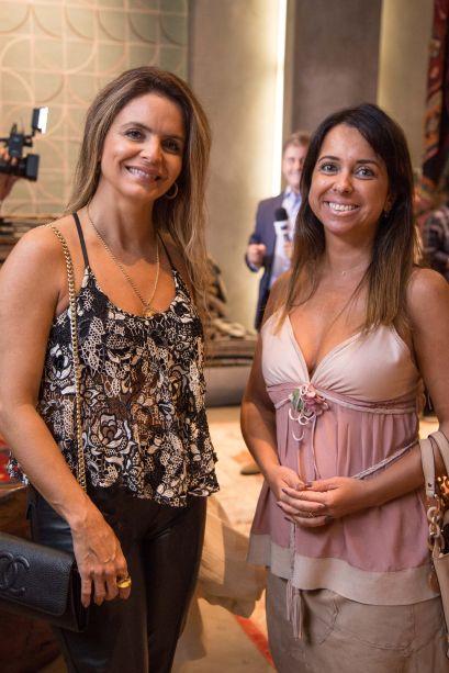 Elisa Martins e Fernanda Paim