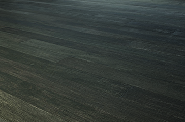 CASACOR Paraná 2017. Garagem Renault - Margit Soares. Revestimento de madeira da Indusparquet Multiestruturado Lugano Affumicatto.