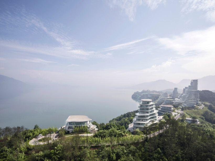 Habitação: Huangshan Mountain Village / MAD Architects