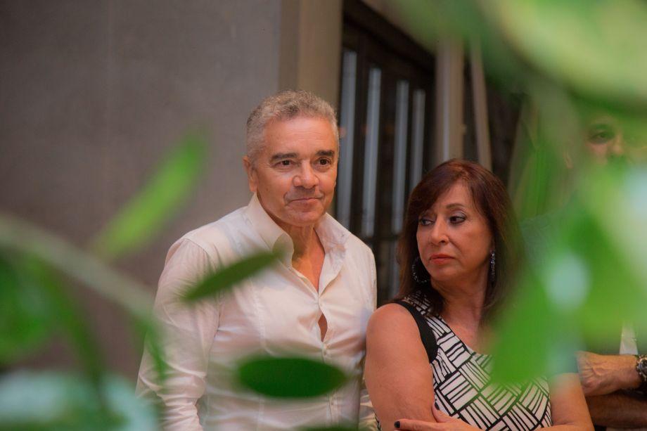 Valdecir Santos e Vera Capaverde