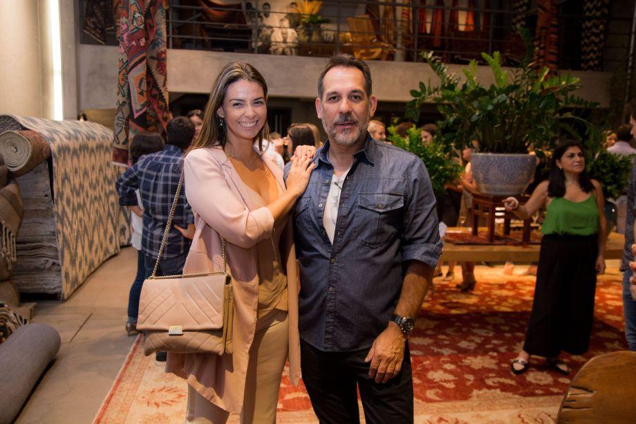 Lidia Maciel e Carlos Flores